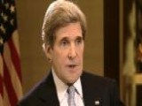 Secretary Kerry Answers Questions On Benghazi