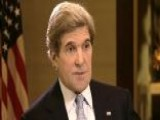 Secretary Kerry: I Met With One Of The Benghazi Survivors