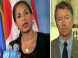 Susan Rice Promotion: Sen. Paul Questions Obama's Judgment
