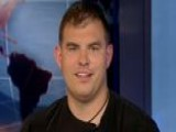 Staff Sgt. Travis Mills Sits In The Anchor Chair On Fox News