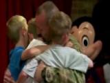 Soldier Surprise: Military Dad Shock Kids With Disney Visit
