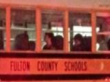 Snowstorm Traps Children On School Bus