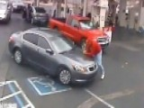 Shocking Video: Elderly Man Run Over At Gas Station