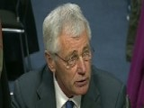 Sec'y Hagel Testifying On Controversial Defense Budget