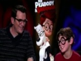 Sitting Down With Stars Of 'Mr. Peabody & Sherman'