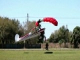 Skydiver Collides With Small Airplane