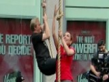 Steve And Maria Face Off In Spartan Race