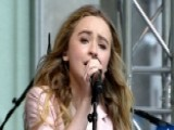 Sabrina Carpenter Performs 'Can't Blame A Girl For Trying'