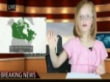 Sorry, Canada: Sisters' 'newscast' Goes Viral