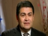Sneak Peek: Honduran Pres. Juan Orlando Hernandez 'OTR'