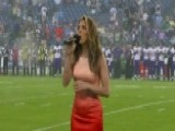 Singer Performs National Anthem In All 50 States