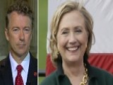 Sen. Rand Paul Re 00006000 Acts To Hillary Clinton's Iowa Appearance
