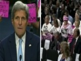 Secretary Kerry Lectures Code Pink