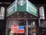 Starbucks CEO Pays Respect To Veterans