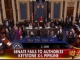 Senate Fails To Authorize Keystone XL