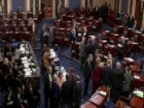 Senate Approves Temporary Spending Bill