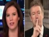 Sen. Paul 'shushes' Anchor During Interview