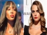 Supermodels In Knock-down, Drag-out Fight?