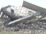 Saddam Hussein's Tomb Reduced To Rubble