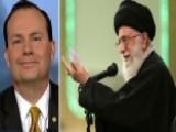 Sen. Lee: Senate 'growing More Frustrated' Over Iran Deal
