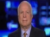 Sen. McCain Talks Iran Bill, GOP Infighting Over Amendments