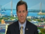 Santorum On Conservative Challenge To Gay Marriage Ruling