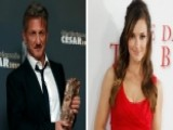 Sean Penn Parties With Minka Kelly
