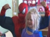 Superheroes Bring Smiles To Children's Hospital