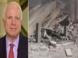 Sen. John McCain Calls Russian Airstrikes 'disgraceful'