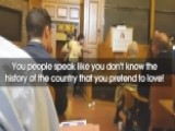 Student Protester Interrupts Free Speech Panel At Yale