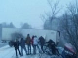 Strangers Form Human Chain To Save Pennsylvania Truck Driver