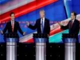 Sparks Fly Between Cruz, Trump And Rubio At GOP Debate