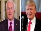 Sen. Cornyn Slams Trump's 'naïve' Border Wall Plan