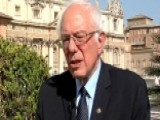 Sanders Travels To The Vatican To Meet With Pope Francis
