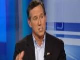 Santorum: Dividing Vote Doesn't Help Cruz Or Kasich