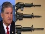 Sen. Manchin: We Can't Get That Common Sense Gun Legislation