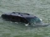 Scared SUV Driver Escapes Mouse