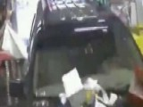 SUV Slams Into Convenience Store, Burying Worker Inside