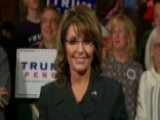 Sarah Palin Assesses The Candidates Ahead Of Election Day
