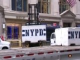 Secret Service, NYPD, Private Security Securing Trump Tower