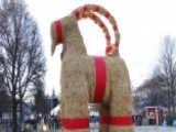 Swedish Christmas Goat Torched For 35th Time In 50 Years