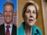 Scott Brown Backed By Ex-rival Warren For VA Secretary