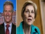 Scott Brown Backed By Ex-rival Warren For VA Secretary