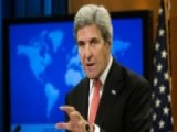 Secretary Of State Kerry Offers Parting Thoughts