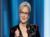 Streep's Trump Speech An Attack On Middle America?