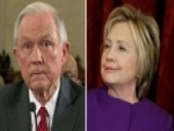 Sessions: I Will Recuse Myself From Clinton Investigations