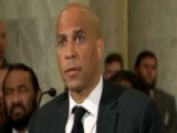 Sen. Booker Gives Testimony Against Sessions' Nomination