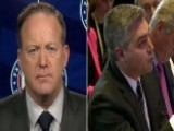 Spicer On CNN Reporter: He Was Disrespectful, Rude To Trump