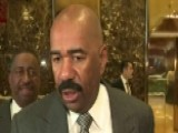 Steve Harvey: Trump Seems Sincere About Helping Inner Cities