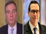 Sen. Mark Warner On Mnuchin's Cabinet Confirmation Hearing